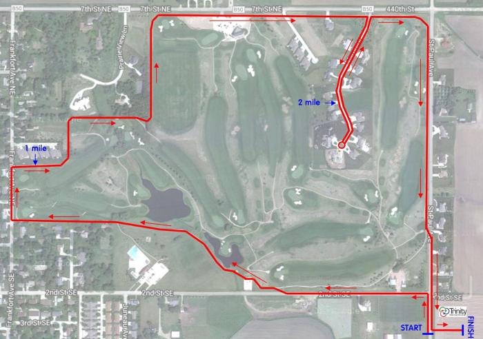 Turkey Trot 5K Course